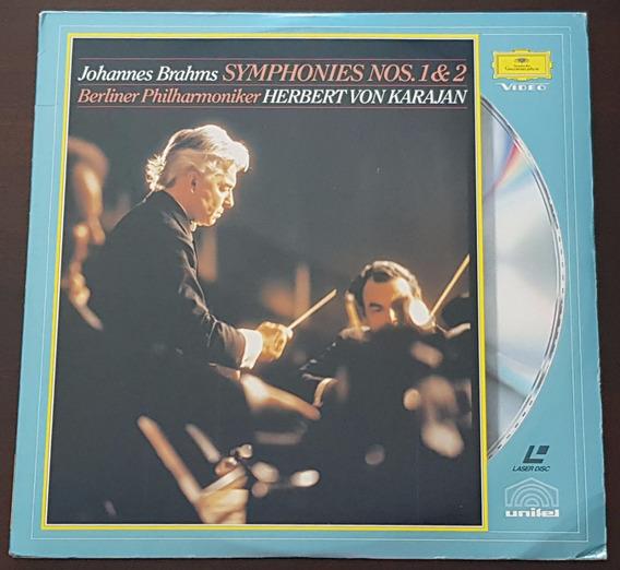 Ld Herbert Karajan Berliner Philharmoniker Brahms Nos. 1 & 2