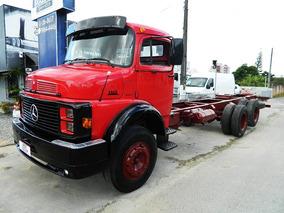 Mercedes-benz Mb 1313 1983 Truck, 6x2 , Chassi