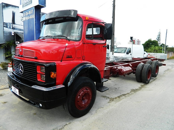 Mercedes-benz Mb 1313 1983 Truck, 6x2 , Chassi