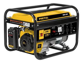 Generador Electrico Planta Luz Gasolina 2500 W Pretul 26034