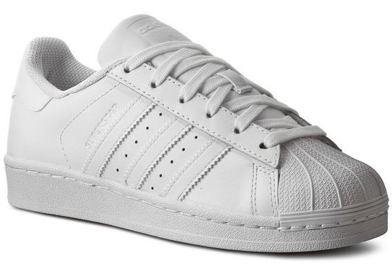 Tenis adidas Superstar Concha Blanco/blanco