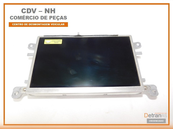 Tela Display Computador De Bordo Audi A4 2009 8t0 919 603 C