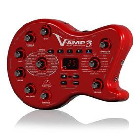 Pedaleira Behringer Para Guitarra V-amp3 Com Usb