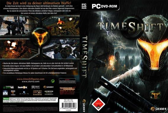 Pc Dvd-rom Time Shift - Novo E Lacrado Fullgames