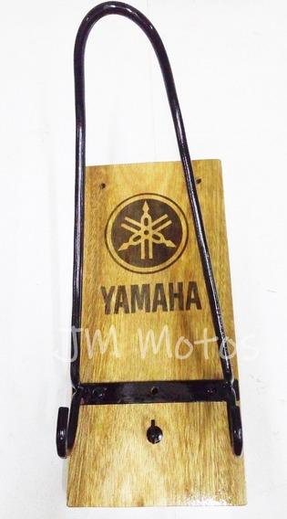 Porta Casco Perchero Llavero Yamaha Honda 33x14 Jm Motos
