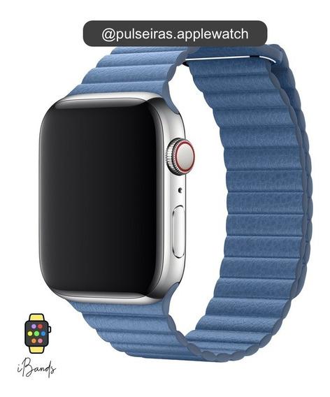 Pulseira Couro Loop Apple Watch Várias Cores