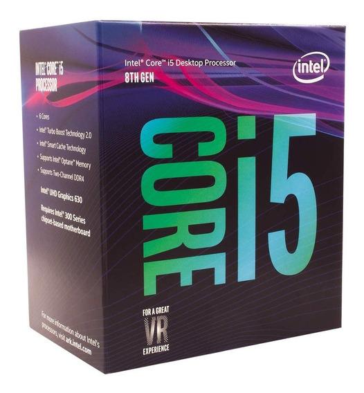 Processador Intel Core I5 8400 8ª Ger 2.8 Ghz 9mb Lga 1151