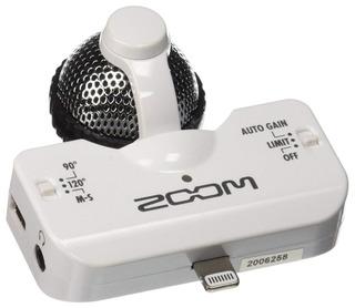 Zoom Iq5 Central Lateral Micrófono Estéreo Para Ios