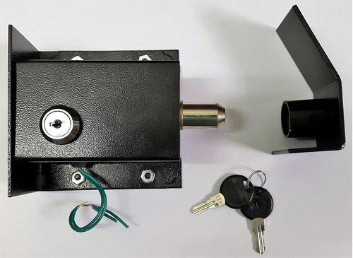 Electrocerradura Portón Automático Traba Eléctrica Sin/inter