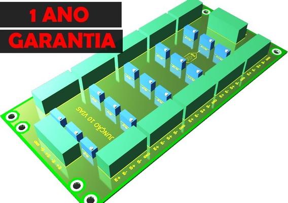 Placa De Junção 10 Vias Para Balança Rodoviária 5 Unidades Personalizada