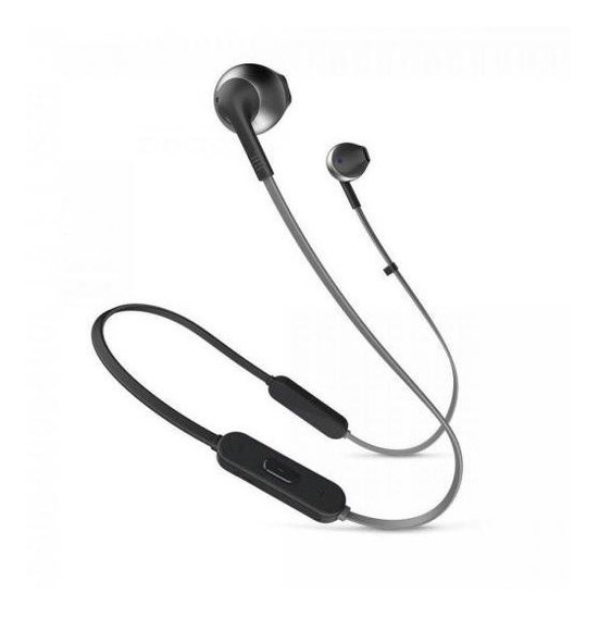 Fone De Ouvido Bluetooth Tune 205bt Preto Jbl C/ Garantia