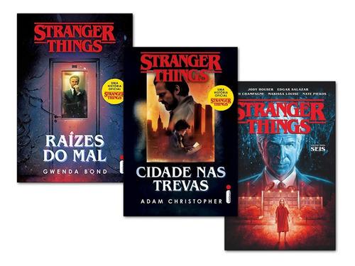 Stranger Things Vol 2 Seis+ Cidade Nas Trevas+ Raízes Do Mal