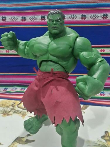 Hulk Hombre Verde Gigante Articulado Marvel Avenger 28 Cm !!