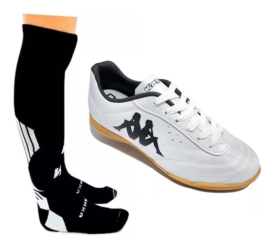 Chuteira Futsal Futebol De Salão Indoor Kappa Print Il
