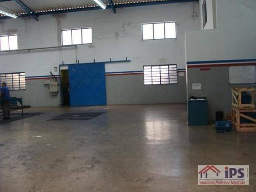Barracão Industrial Para Locação, Jardim São Judas Tadeu (nova Veneza), Sumaré. - Ba0014