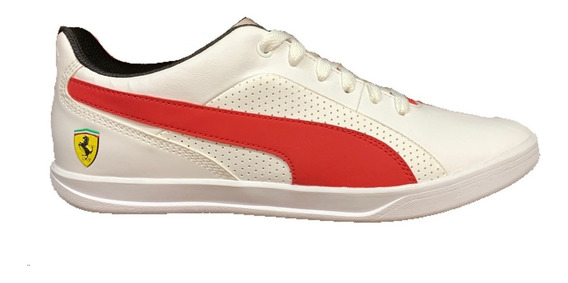 Tenis Puma Ferrari Selezione Hombre 305905-06 Look Trendy