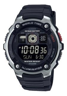 Reloj Casio Ae-2000w-1b Hombre Envio Gratis