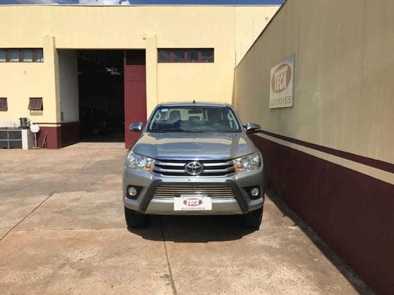 Toyota Hilux Srv Cd 4x4 Automático 2017