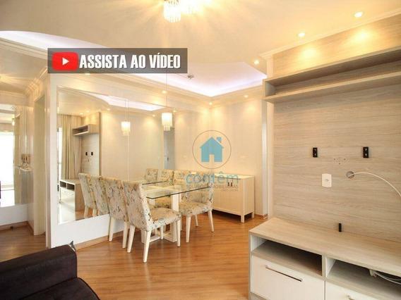 Ap1405- Apartamento Com 2 Dormitórios Para Alugar, 52 M² Por R$ 1.621/mês - Km 18 - Osasco/sp - Ap1405