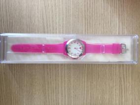 Relógio De Pulso Do Mickey - Rosa (novo)