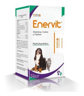 Enervit Vitaminico Perros Gatos Terneros Lechones 120 Ml.