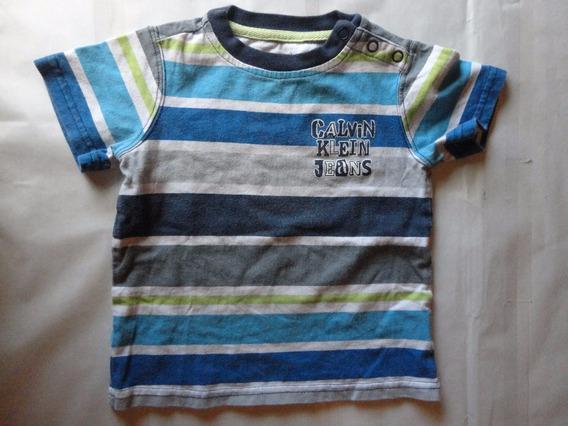 Calvin Klein Camisa Para Niño Talla Meses