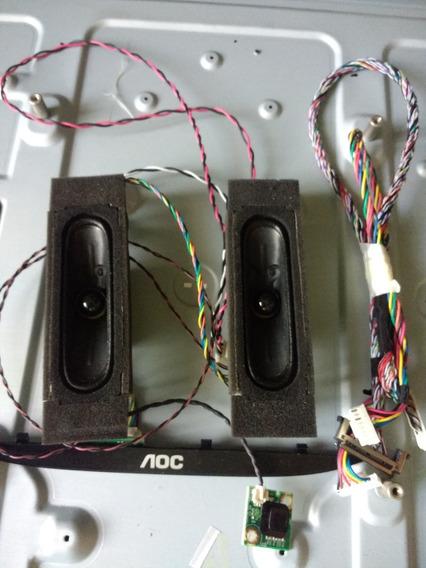 Sensor Do Controle Remoto +chave L.d Tv Aoc Le40d1442 /20