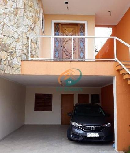 Sobrado Com 3 Dormitórios À Venda, 165 M² Por R$ 900.000,00 - Vila São Ricardo - Guarulhos/sp - So0260
