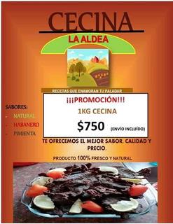 Cecina La Aldea (carne Seca) De Excelente Calidad Y Sabor