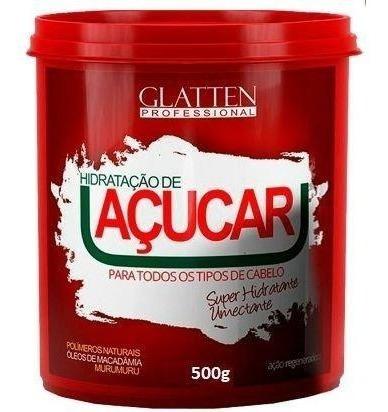 Glatten - Máscara Hidratante - Reconstrução De Açucar