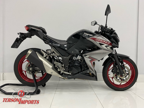 Imagem 1 de 8 de Kawasaki Z300 Abs 2019 Preta