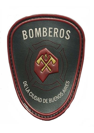Emblema Bomberos De La Ciudad De Buenos Aires Pvc