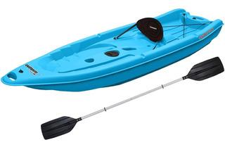 Kayak Sun Dolphin 8ss Con Remo Color Azul