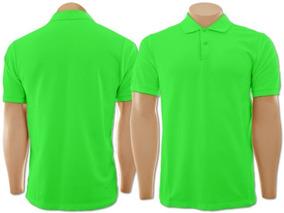 3 Camisas Pólo Básica Piquet - Masculino