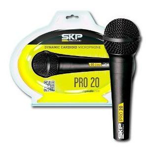 Microfono Profesional Con Cable Pro-20 Skp Pro Audio