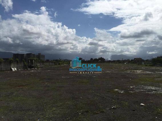 Terreno Comercial Para Locação, Parque São Vicente, São Vicente. - Te0024