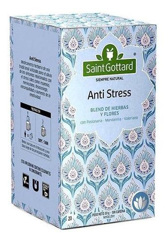 Te Anti Stress Saint Gottard 20 Saquitos