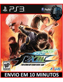 The King Of Fighters Xiii 13 Ps3 Psn