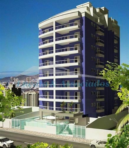 Apartamento Para Venda Na Aviação Em Praia Grande Sp, 02 Dormitórios, Sendo 01 Suíte, 01 Vaga De Garagem Com 81,16 M2 Área Útil,  Entrega Dez 2020 - Ap02136 - 68562459