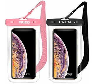 Estuche Impermeable 2 Pack Para iPhone Xs Max Xr Xs X 8 7 6s