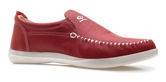 Zapatos Hombre Mocasin Nautico Cuero Brd