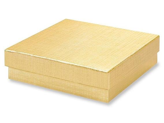 100 Cajas Color Dorado Para Pulsera Joyeria Joyas