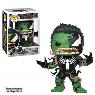 Venomized Hulk Funko Pop Venom Marvel Pelicula
