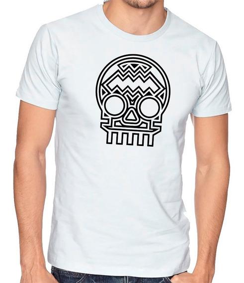 Playera Dia De Muertos Calavera Camiseta Hombre Niño #698