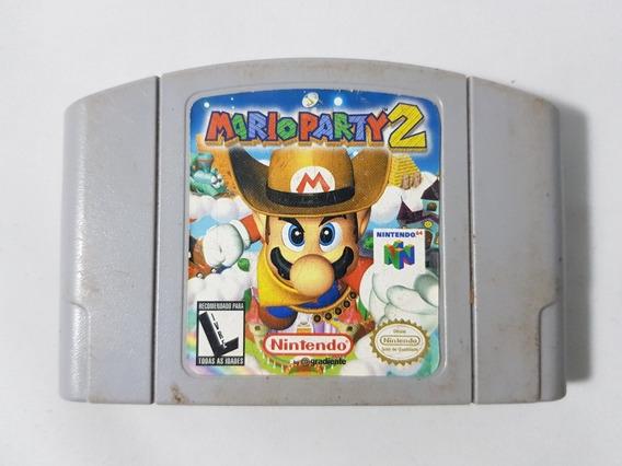 Mario Party 2 Original Gradiente Nintendo 64 Mídia Física