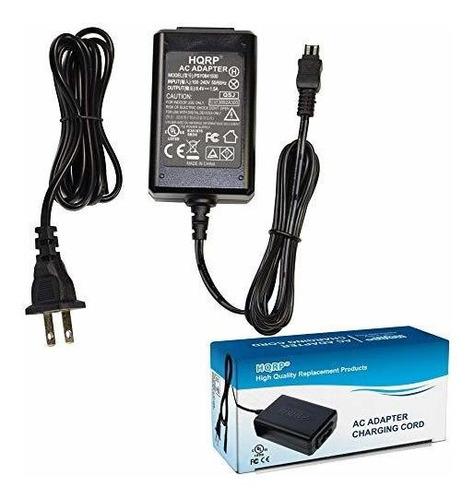Imagen 1 de 7 de Hqrp 8.4v Cargador Funciona Con Sony Handycam Dcr-dvd103 Dcr