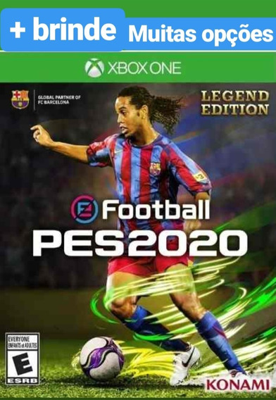 Pes 2020 Legends + Brinde Xbox One Midia Digital Envio Ja
