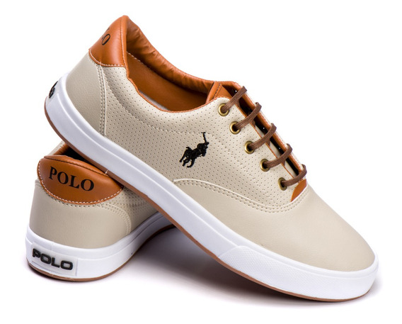 Sapatenis Tenis Polo Way Original Masculino Casual + 3 Meias