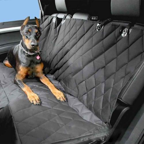 Imagen 1 de 2 de Protector Silla Carro Mascota Negro Gris Trasera