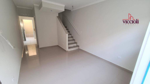 Casa Com 2 Dormitórios À Venda, 61 M² Por R$ 250.000,00 - Canto Do Forte - Praia Grande/sp - Ca0148